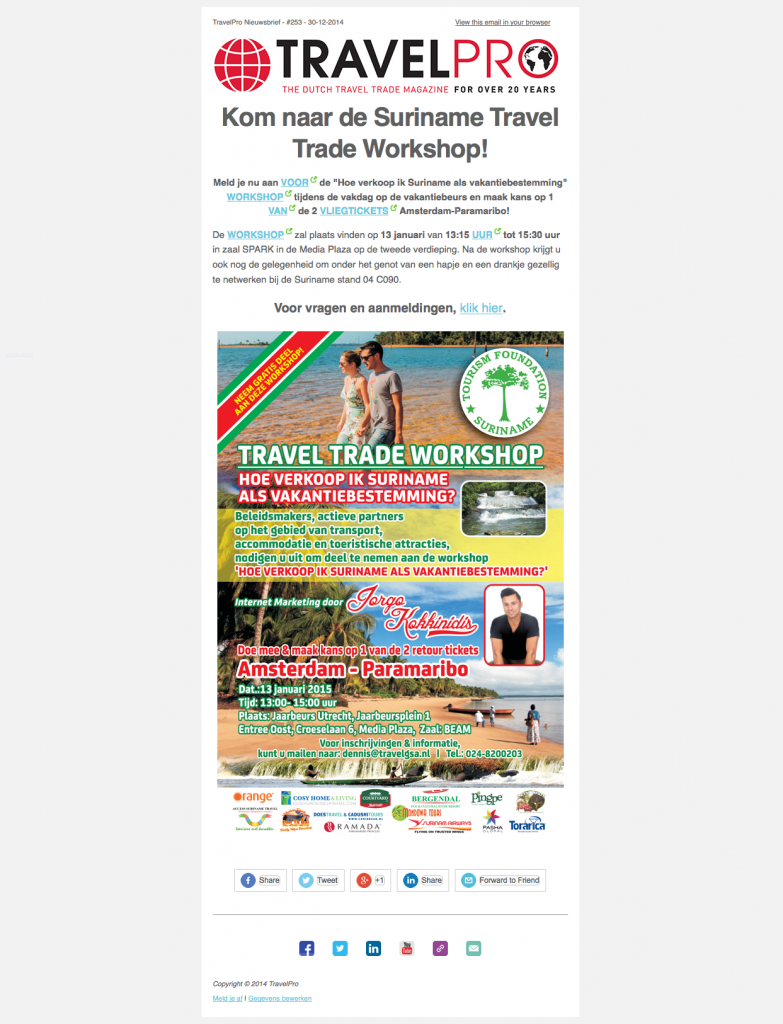 Kom naar de Suriname Travel Trade Workshop! 2015-03-18 10-56-56